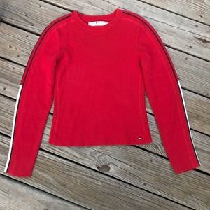 Tommy Hilfiger 90s Style Cropped Sweater